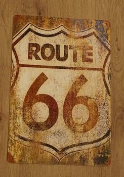 "Billboard "" Route 66  """