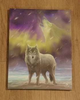 """Canvas poster van Anne Stokes  """" Wolven """""""