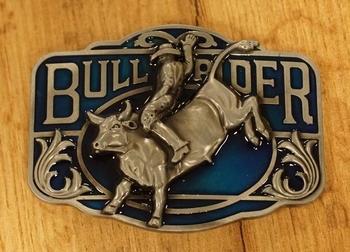 """Buckle  """" Rodeo """"  Zilver- / goudkleurig"""