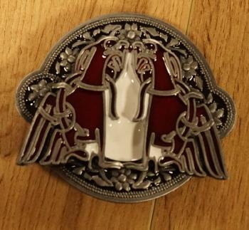 "Celtic buckle / gesp "" Northumberland kruis """
