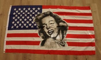 "Amerikaanse vlag  "" Marilyn Monroe """