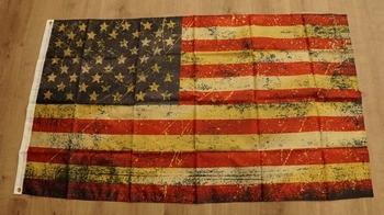 "Amerikaanse vlag ' Grunge """