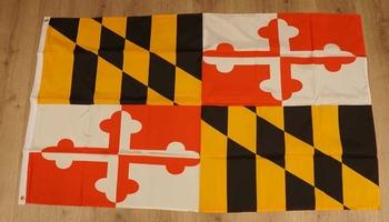 "Amerikaanse Staten vlag  "" Maryland """