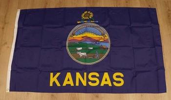 """Amerikaanse Staten vlag  """" Kansas """""""
