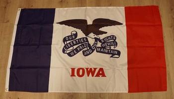 "Amerikaanse Staten vlag  "" Iowa """