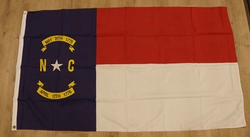 "Amerikaanse Staten vlag  "" North Carolina """