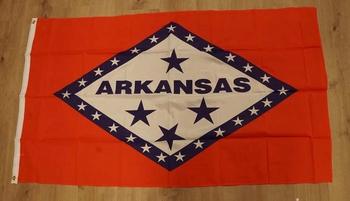"""Amerikaanse Staten vlag  """" Arkansas """""""
