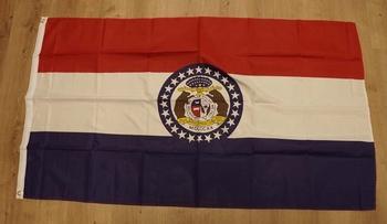 """Amerikaanse Staten vlag  """" Missouri """""""