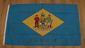 "Amerikaanse Staten vlag  "" Delaware """