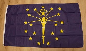 "Amerikaanse Staten vlag  "" Indiana """