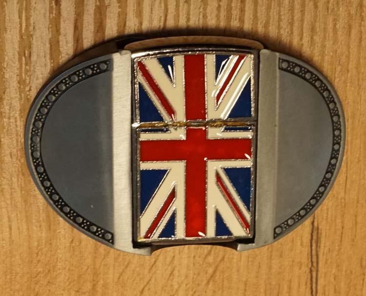 """Aansteker buckle """" Britische vlag """""""