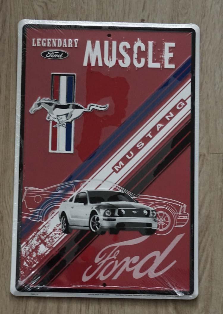 "Amerikaanse Billboard  "" Muscle Mustang Ford """