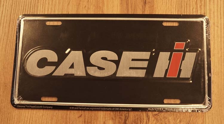 """Amerikaanse kentekenplaat """" Case IH """""""