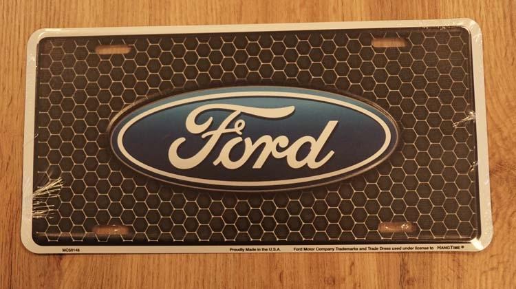 """Amerikaanse kentekenplaat """" Ford """""""