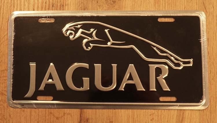 "Amerikaanse kentekenplaat "" Jaguar """