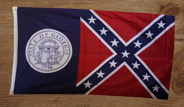 "Amerikaanse Staten gevelvlag  "" Georgia """