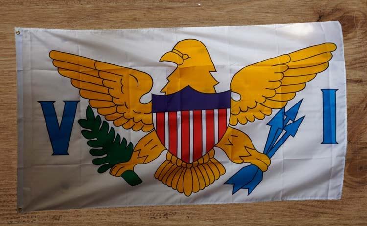 """Amerikaanse Staten gevelvlag  """" Virgin Island """""""
