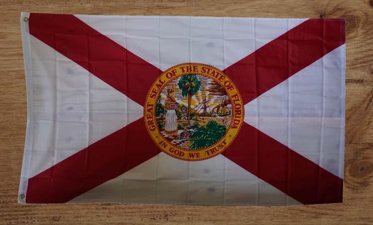 """Amerikaanse Staten vlag  """" Florida """""""