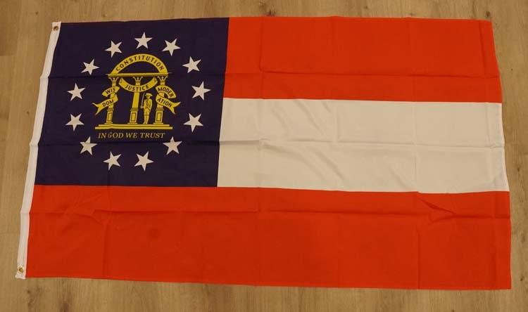 "Amerikaanse Staten vlag  "" Georgia ""  nieuw"