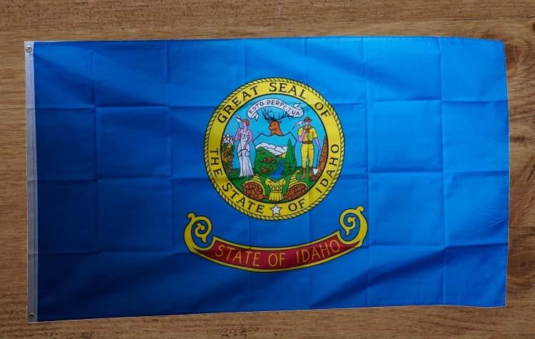 """Amerikaanse Staten vlag  """" Idaho """"   UITVERKOCHT"""