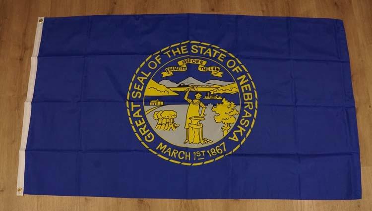 "Amerikaanse Staten vlag  "" Nebraska """