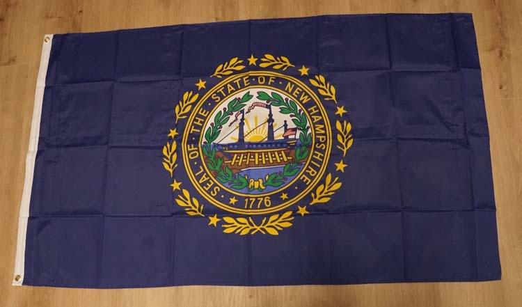 "Amerikaanse Staten vlag  "" New Hampshire """