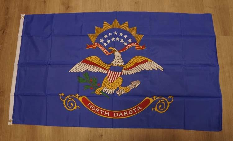 "Amerikaanse Staten vlag  "" North Dakota """