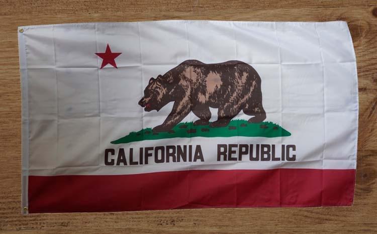 """Amerikaanse Staten vlag """" California republic  """" UITVERKOCHT"""