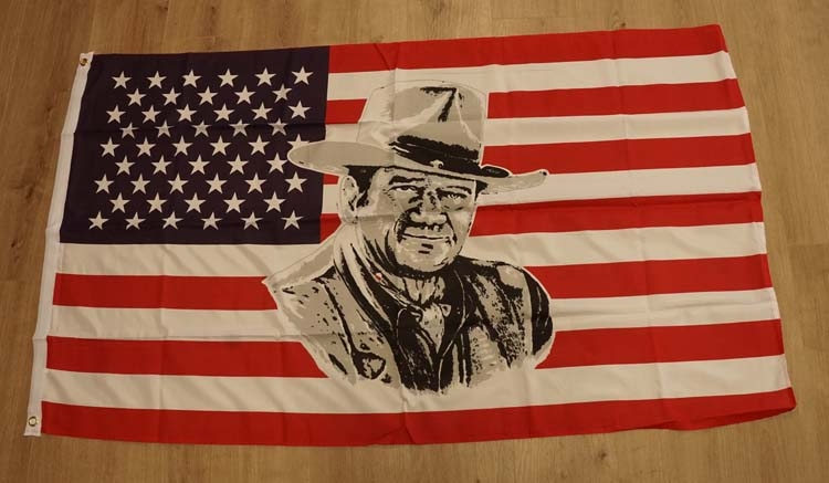 "Amerikaanse vlag  "" John Wayne """
