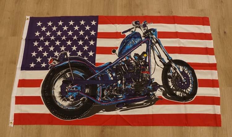 "Amerikaanse vlag  "" Motor """