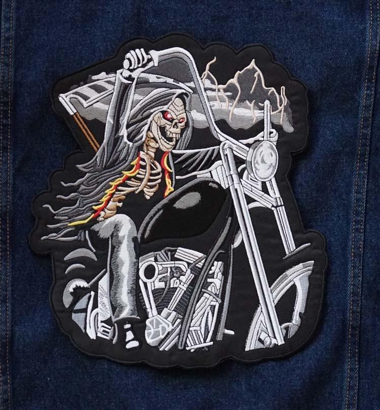 """Applicatie  """" Motorrijder op motorcycle """""""