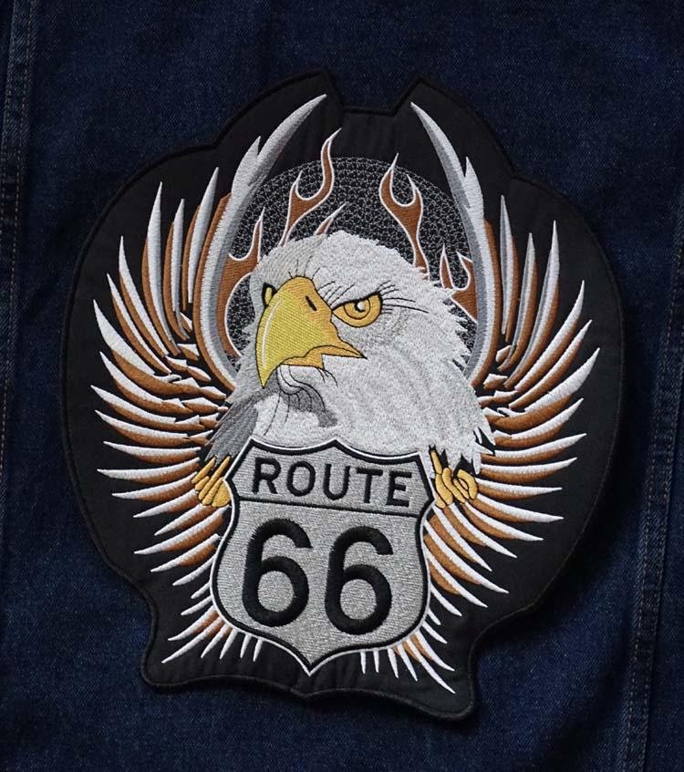 """Applicatie  """" Route 66 """"  adelaar"""