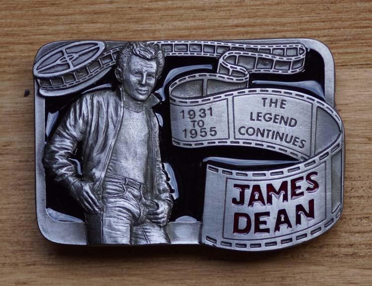 """Artiesten buckle  """" James Dean """" The legend """""""