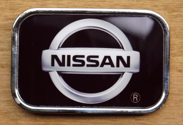 "Auto merk  buckle  "" Nissan ""   Zwart"