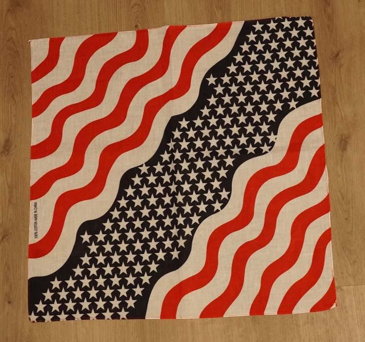 "Bandana  "" Americaanse Stars & Stripes """