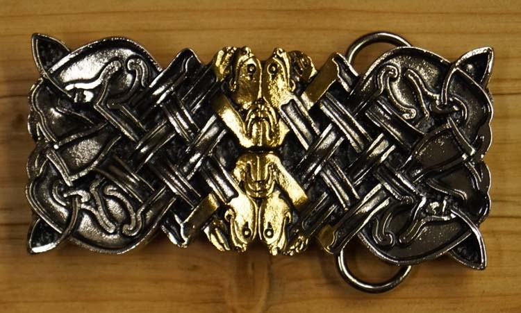 "Belt buckle  ""  Keltisch design """