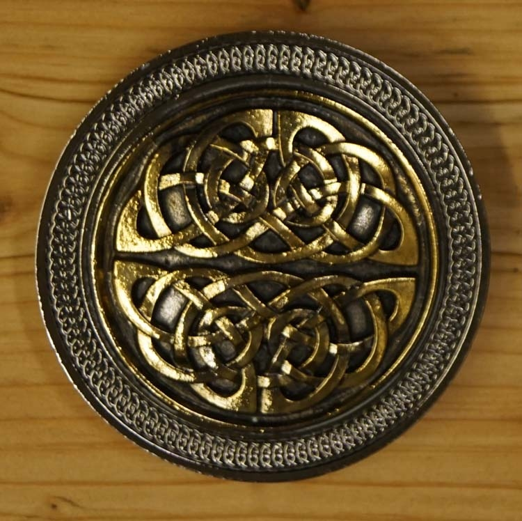 """Belt buckle  """" Celtic knot in two part """""""