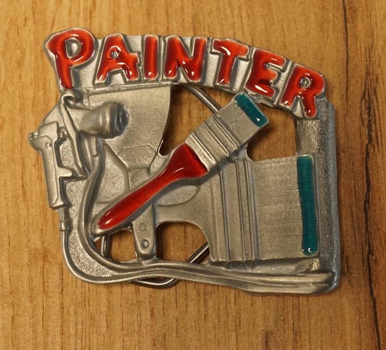 """Belt buckle """" Painter """"  ( Schilder )  UITVERKOCHT"""