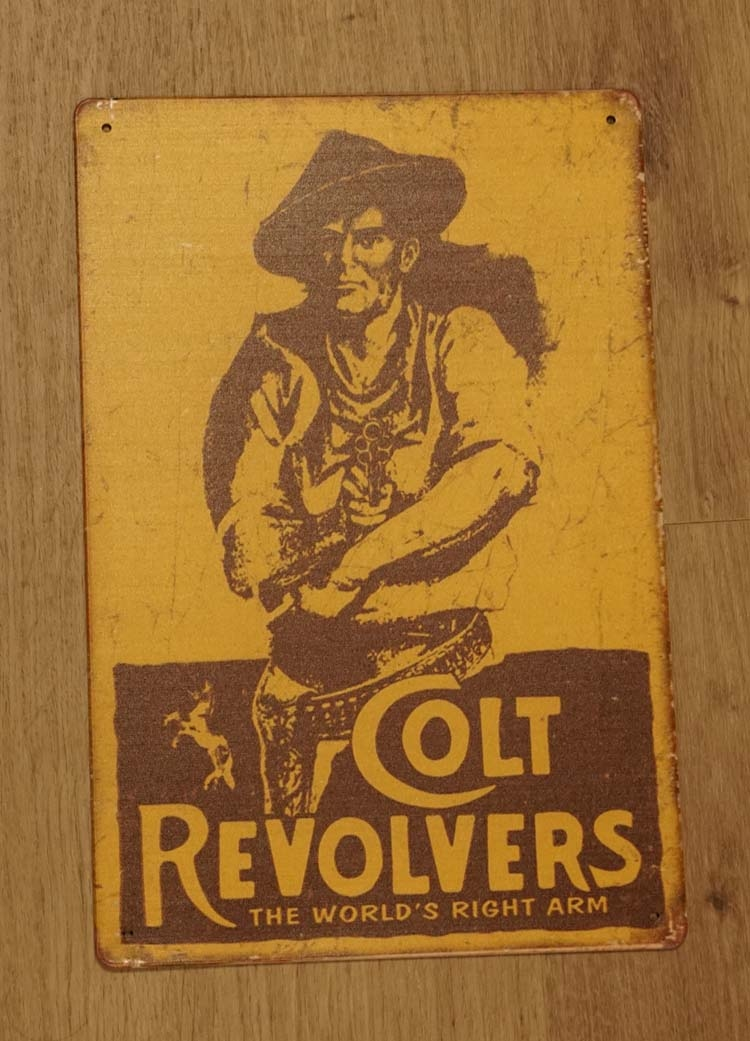 "Billboard "" Colt revolvers """