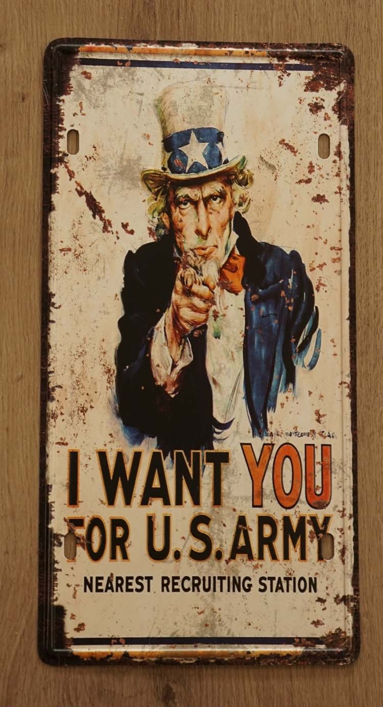 "Billboard "" I want you for U.S. army """