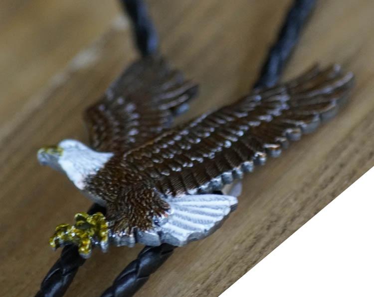"""Bolo tie  """"  Vliegende adelaar """""""