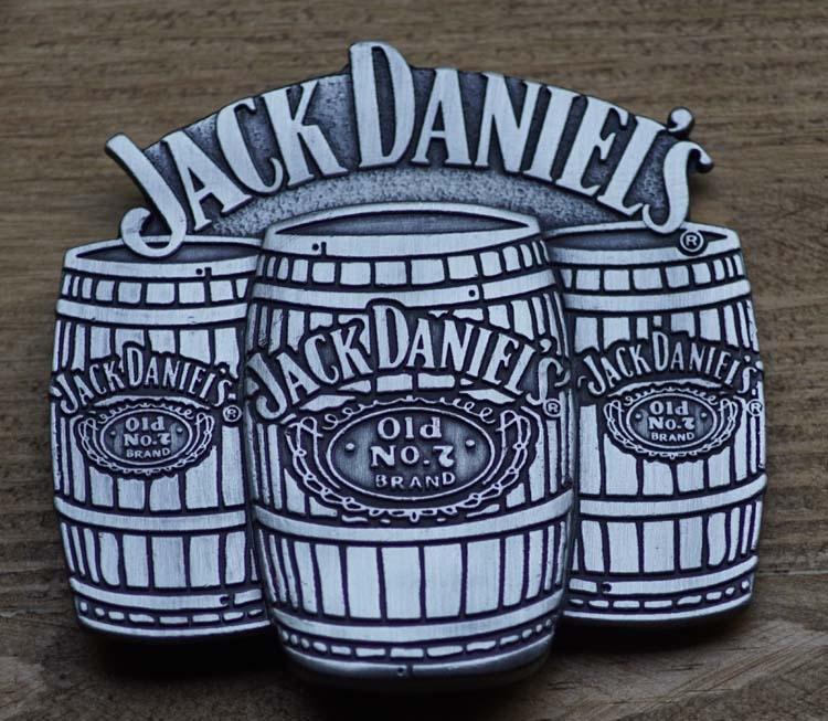 "Buckle   "" Jack Daniel's ""  3 vatten wiskey"