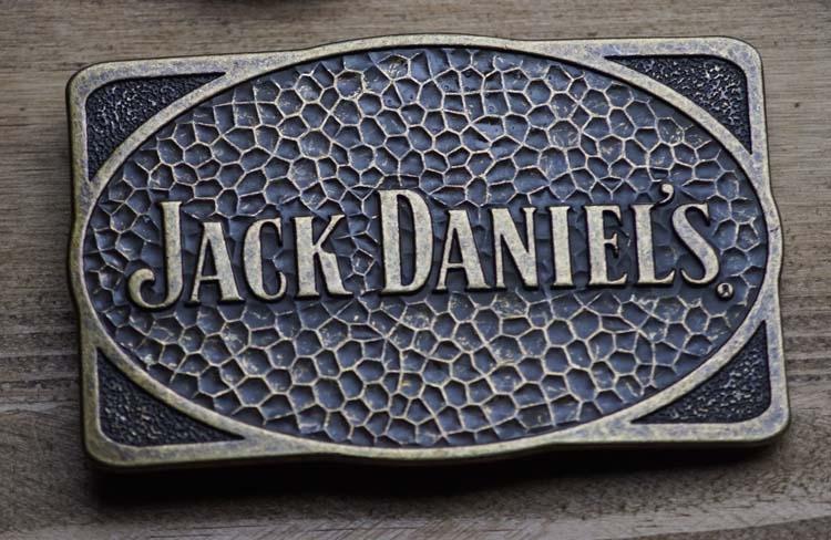 """Buckle   """" Jack Daniels """"  Koper kleurig"""
