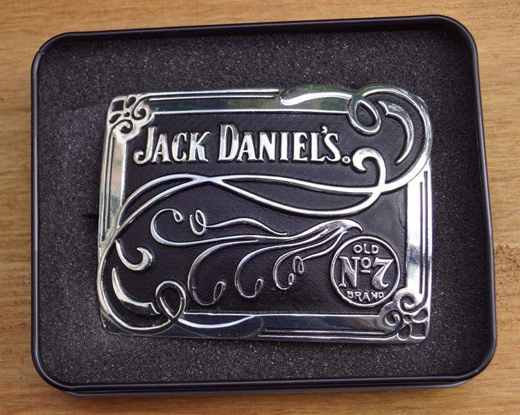 "Buckle   "" Jack Daniels  Old no 7 brand ""  Siermotief"