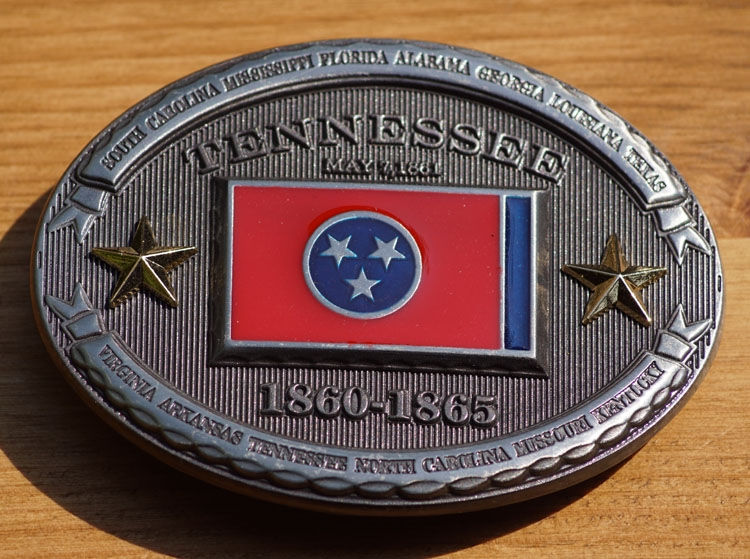 """Buckle  """"  Tennessee  1860 - 1865 """""""