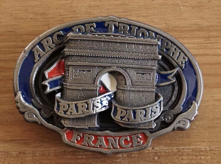 """Buckle  """" Arc de Triomphe paris paris """""""
