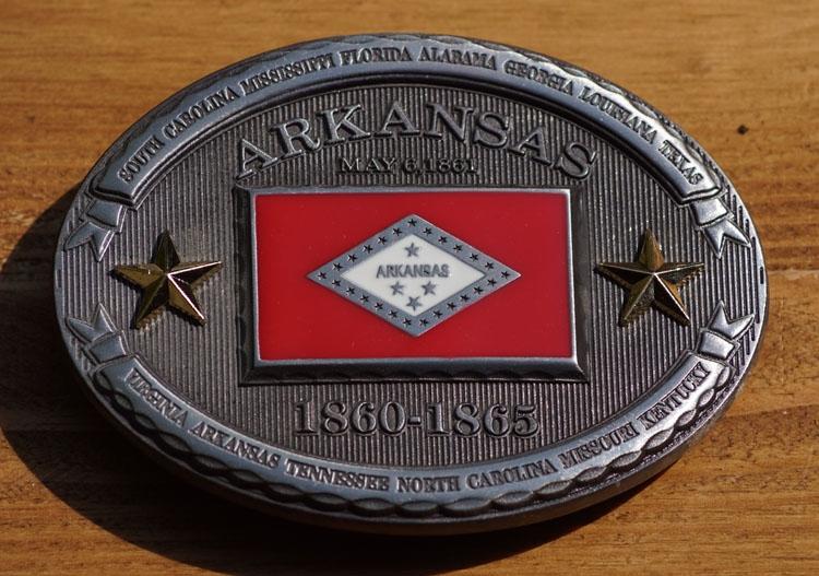 "Buckle  "" Arkansas  1860 - 1865 """