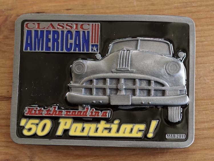 "Buckle  "" Classic American 50 Pontiac """