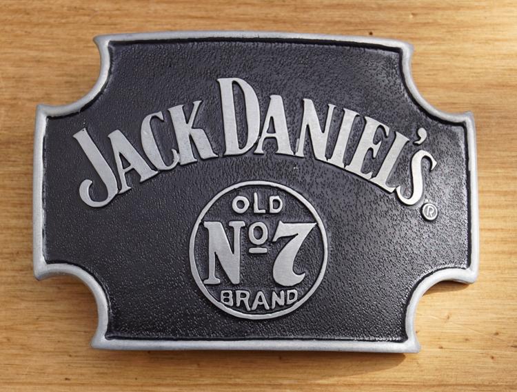 """Buckle  """" Jack Daniel""""s Old no 7 brand """"   UITVERKOCHT"""