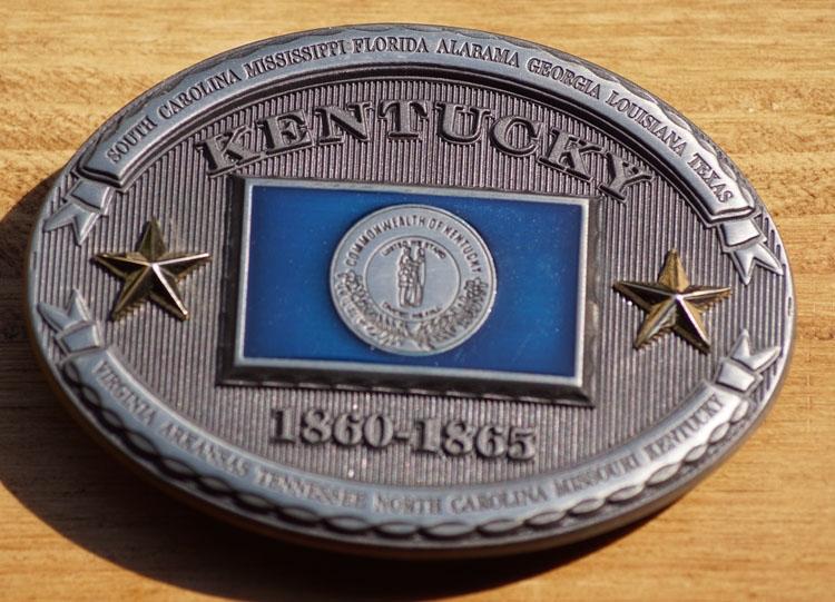 """Buckle  """" Kentucky  1860 - 1865 """""""